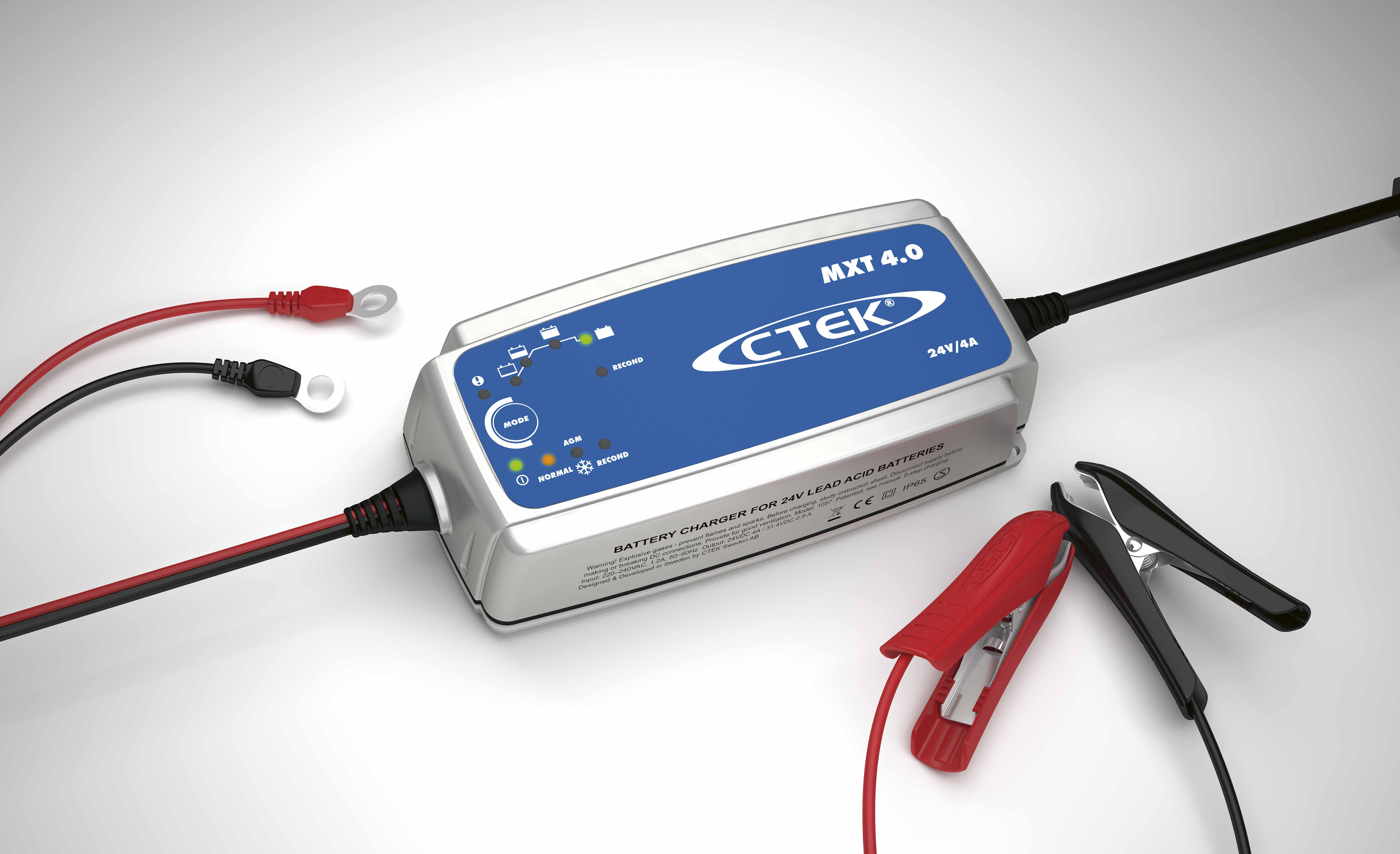 auto xs battery charger instructions