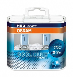 OSRAM COOL BLUE INTENSE HB3 (2pack)