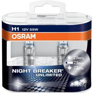 OSRAM NIGHT BREAKER UNLIMITED H1 (2st)