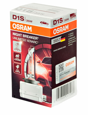 OSRAM D1S Night Breaker Unlimited Xenark (2 pack)